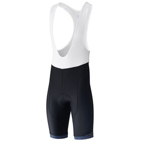 Shimano Aspire Miehet Bib-pyöräilyshortsit , sininen/musta